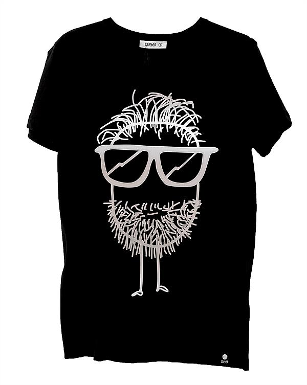 QUIPSTER_T-Shirt_Metallic Collection_BEARD_EUR 34,90