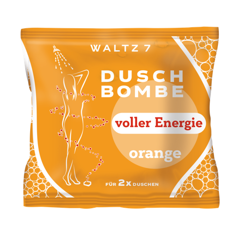 WALTZ 7 Duschbombe Orange_EUR 1,49