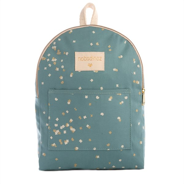 kyddo_Nobodinoz_Rucksack Mini Gold Confettig Magic Blue EUR 29,95