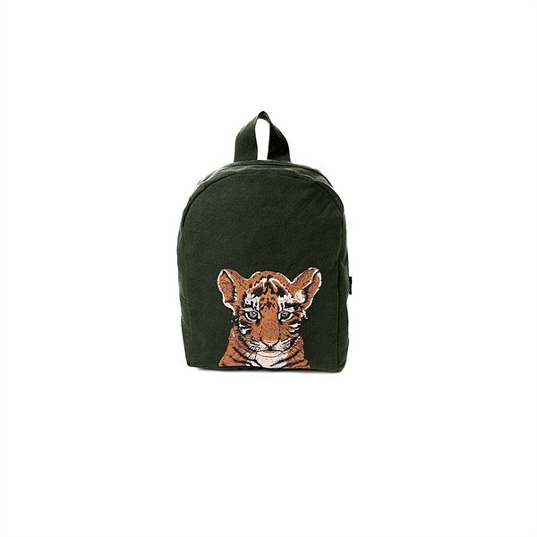 "kyddo_Rive Droite Paris_Rucksack ""Hardy Tiger Military Green"" EUR 49"