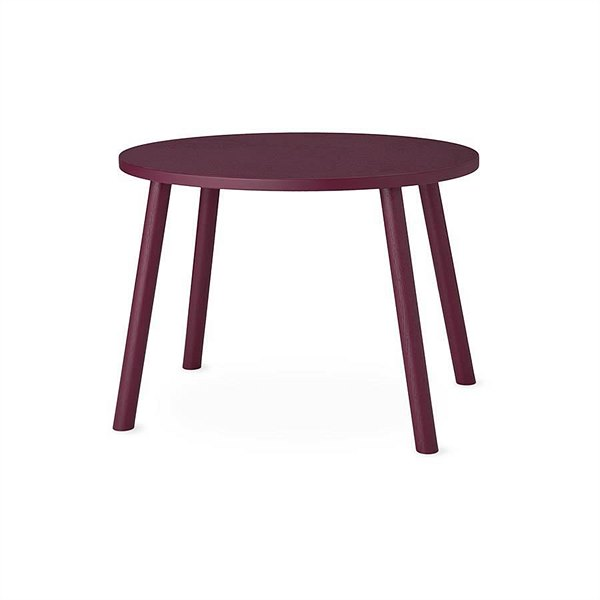 kyddo_Nofred_Kindertisch Mouse Table Burgundy EUR 200