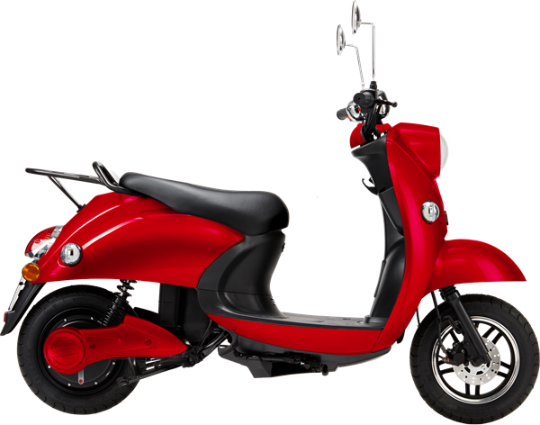 unu_Scooter Classic_red_black