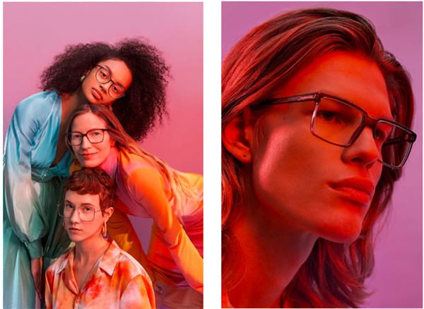 Pressematerial - ANDY WOLF EYEWEAR - Campaign COALESCE 2020