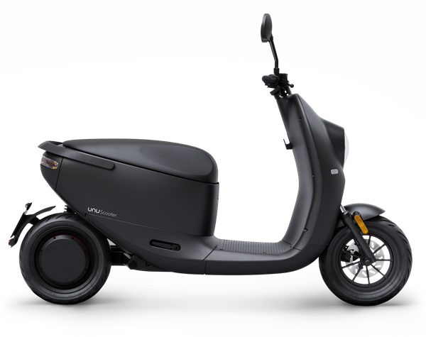 unu Scooter_Cutout_Side_Black Matte_ab EUR 2.799