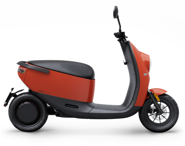 unu Scooter_Cutout_Side_Red Glossy_ab EUR 2.799
