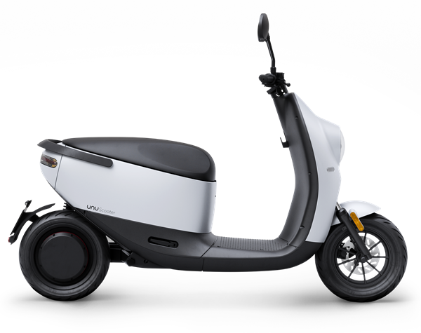 unu Scooter_Cutout_Side_White Matte_ab EUR 2.799