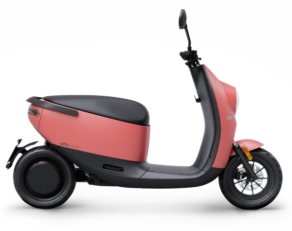 unu Scooter_Cutout_Side_Coral Matte_ab EUR 2.799