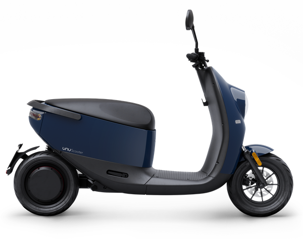 unu Scooter_Cutout_Side_Blue Glossy_ab EUR 2.799