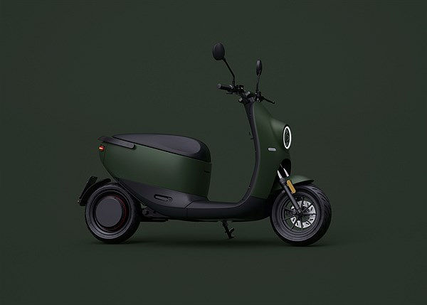 unu Scooter_Product_Wideshot Green
