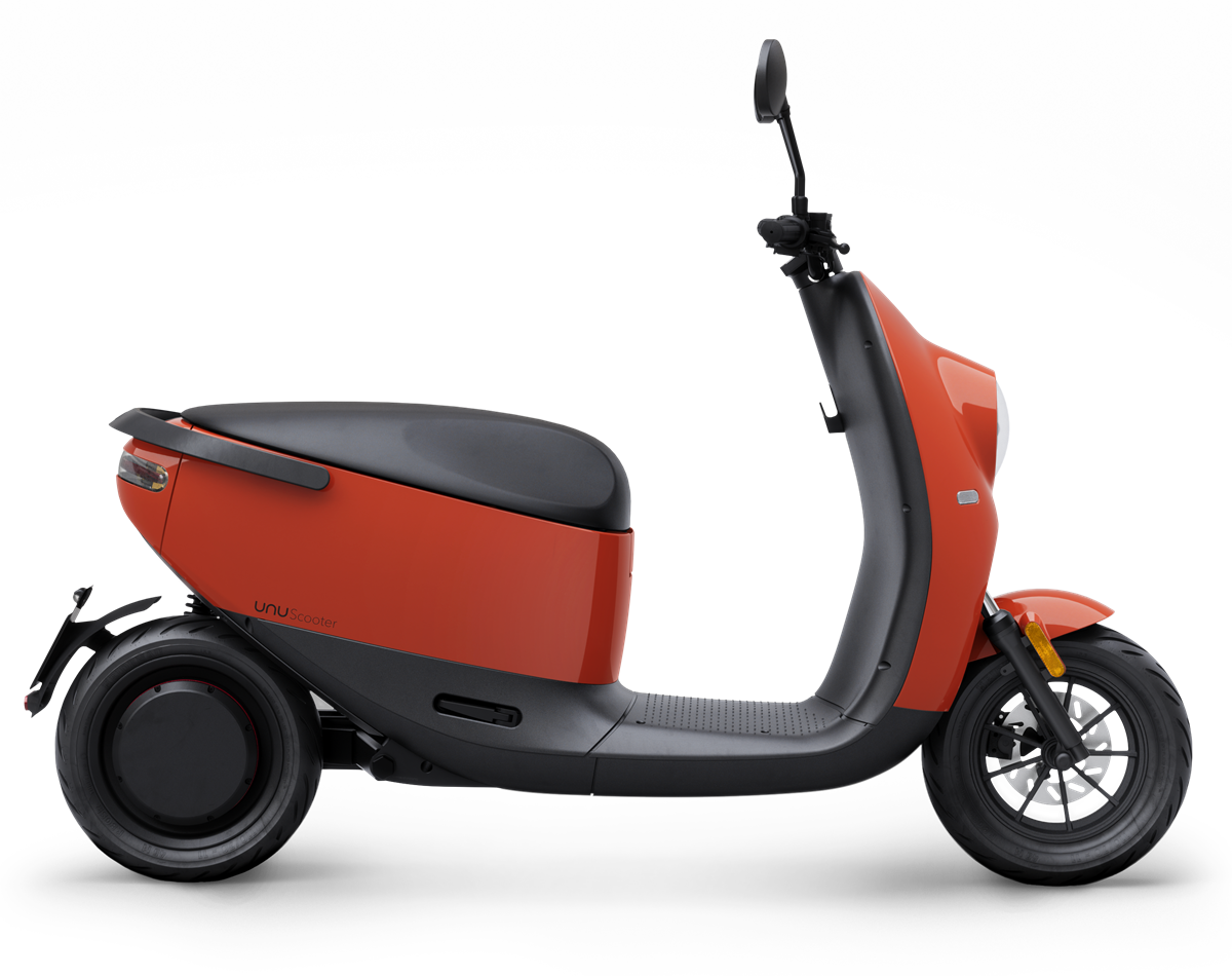 unu Scooter_Glossy Red__ab EUR 2.799