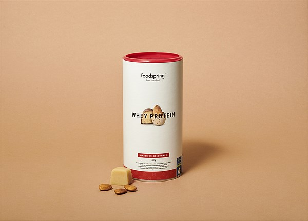 foodspring_Whey Protein_Marzipan_EUR 19,99