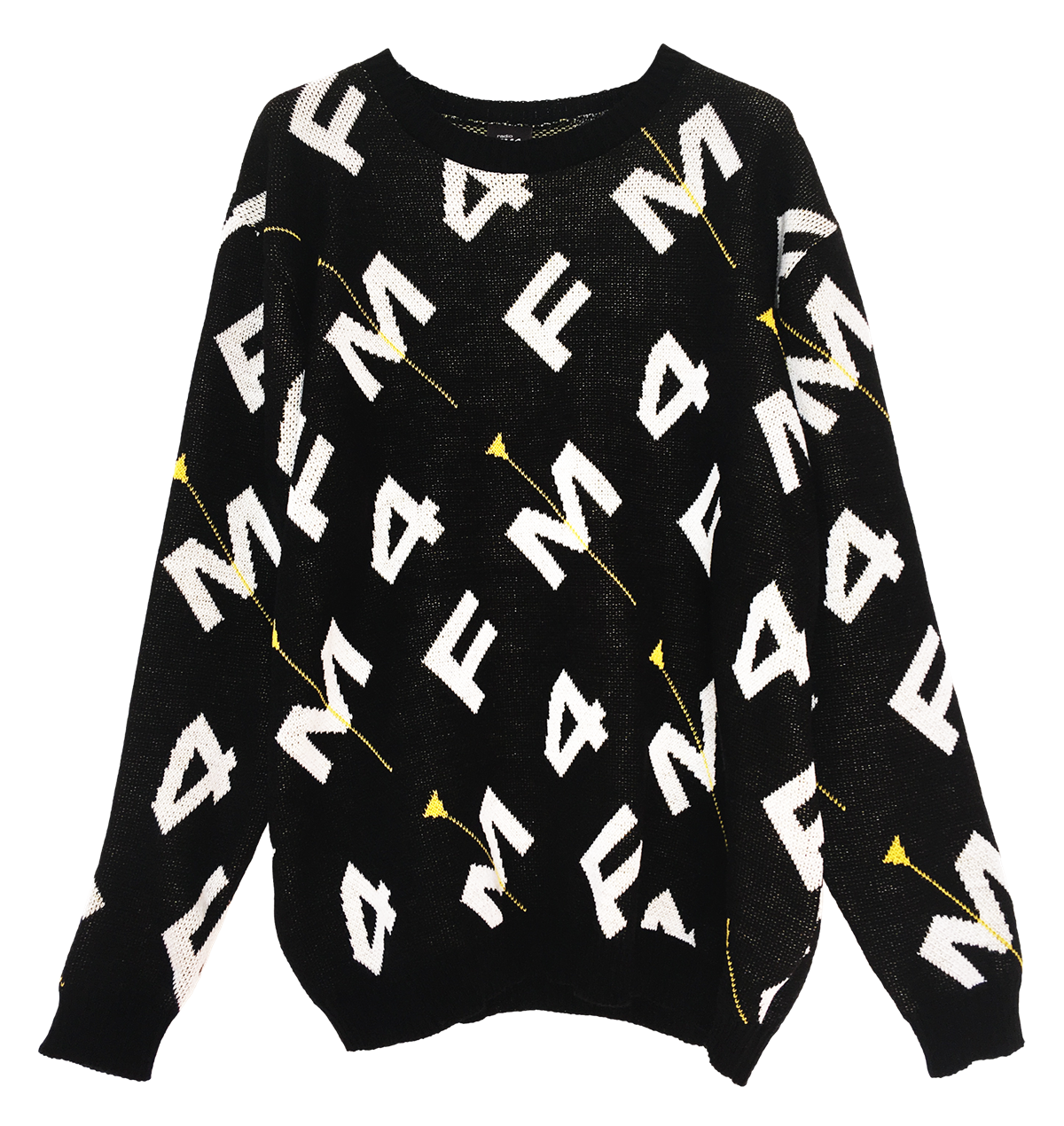 FM4 x peng! - 25 years anniversary collection_Strickpulli_front_EUR 119
